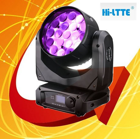 2014 hot selling products hi-ltte 19pcs*12w RGBW 4-in-1 wash zoom moving head led professional lighting/lights