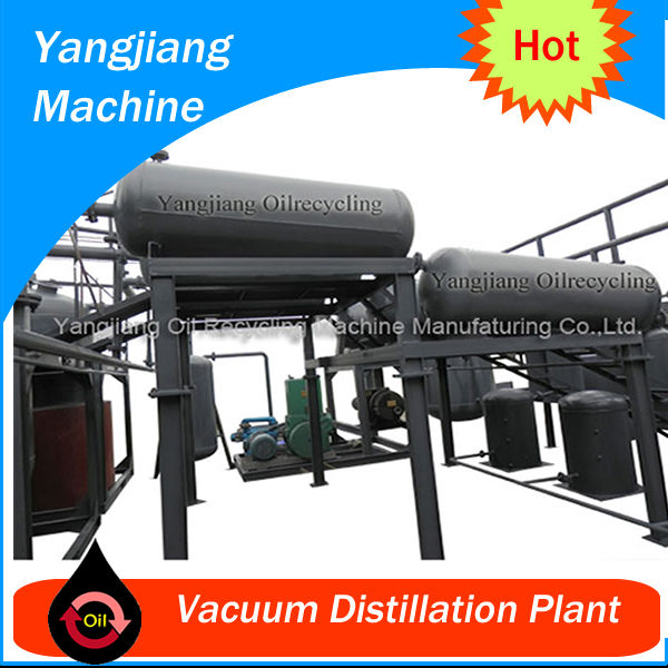 Black Waste Engine Oil Purification(500L-50T)