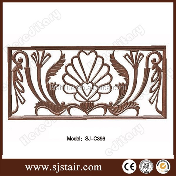 Balcony Grill Fence accessories decoration parts cast iron fence gate ornaments