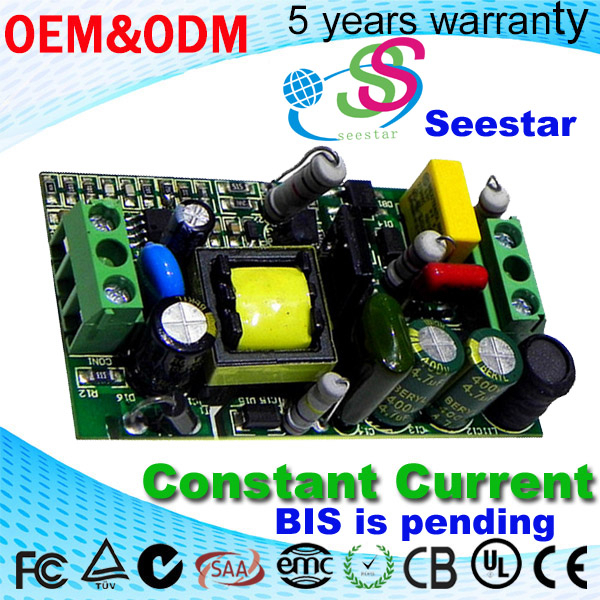 15W dimmable constant current LED power supply 350ma 48V pass CE SAA RHOS indoor lights led driver