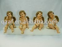 Polyresin Cupid angel figurines