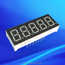 ultra red 0.36 inch 5 digit 7segment led display 0.36""