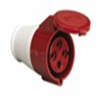 Red CE certificate industrial universal 4-pin electric socket