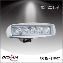 New design auto led working light, truck and offload led bar flood beam 15W 800LMS