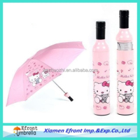 advertising cartoon bottle gift umbrella from China manufacturer