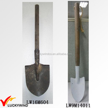 Rustic Antique Wooden Handle Garden Tools Shovels Spades Garden Spade Garden Shovel