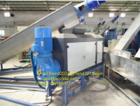 PE PP agricultural film washing line/PE squeezer ground film recycling washing line/PE mulching film washing machine