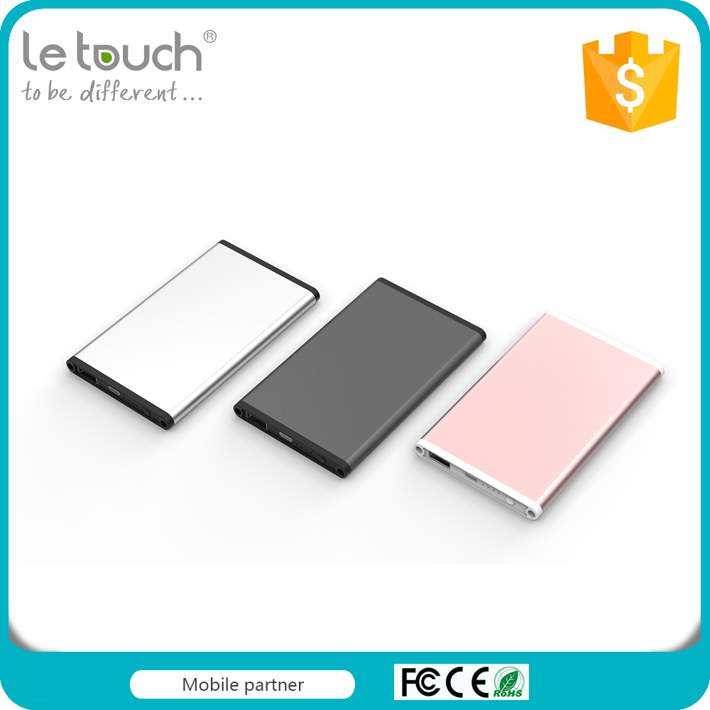 Super slim shenzhen power bank made in China with 4000mAh capacity