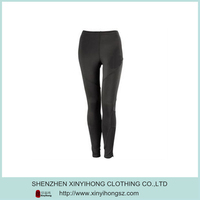 Plain Women Sex Skins Compression Sports Tight Wear Long Pants