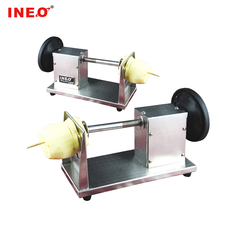Manual tornado potato machine/spiral potato chip cutter/machines for potato spiral
