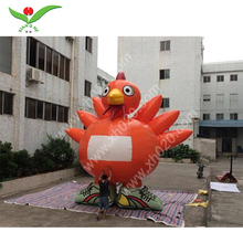 commercial giant festival product Thanksgiving decoration cartoon PVC Tarpaulin Inflatable Turkey