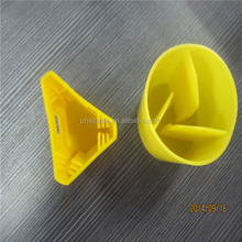 yellow wood galvanized steel fence post caps for star picket