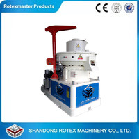 Rotexmaster forest waste birch wood shaving sawdust pellet press machine mill plant