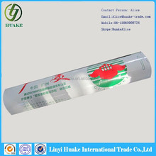 2012 hot sale clear PE protective plastic film