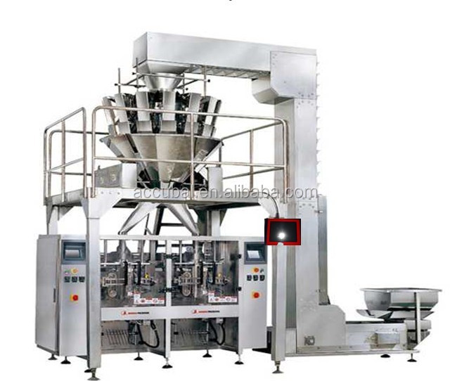 china factory supply packing machinery with combination multihead weigher for pickles,meat,poultry,seafood