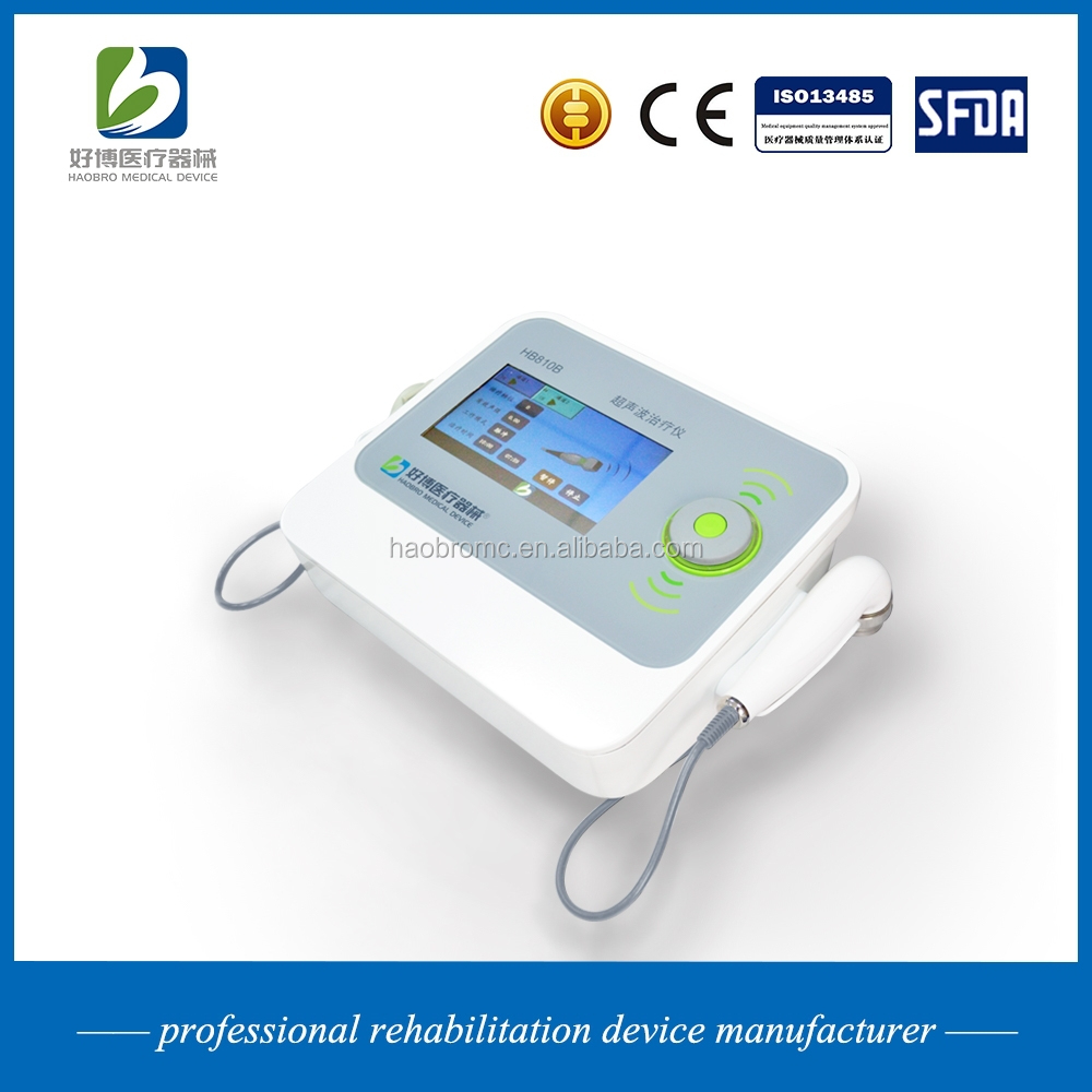 Ultrasonic therapy apparatus for physiotherapy (for patient)