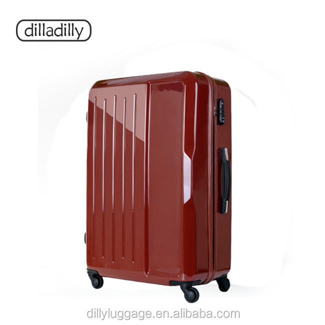 "hard shell abs travel 20"" trolley luggage, lightweight suitcase, abs pc suitcase"