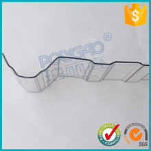 T type waterproof polycarbonate corrugated plastic roofing sheet for greenhouse