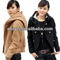 New fashion winter/autumn women coat warm jacket hooded coat