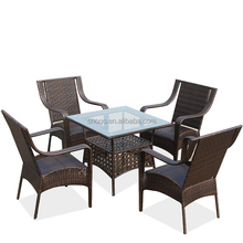 Rattan / Wicker Outdoor Furniture Restaurant Tables And Chairs(Z355)