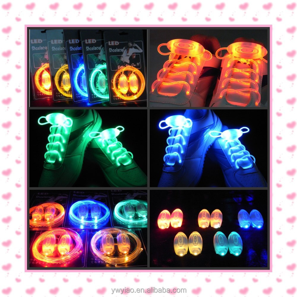 2015 New design led shoeslace cheap price stocks!!!