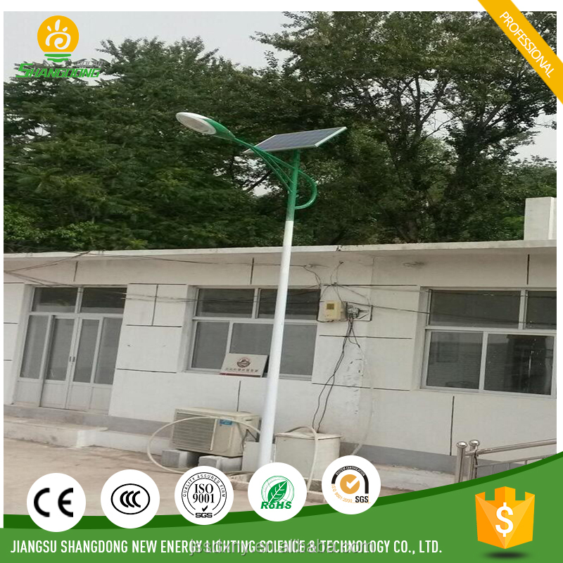 8m LED solar power street light system CE CCC certification approved aluminium lighting fixture