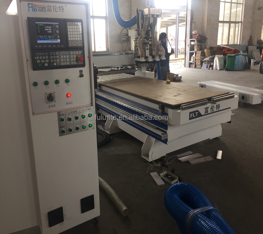 CNC ATC nesting machine for panel furniture
