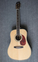 Weifang Rebon D45 41 size All Solid wood dreadnought Acoustic Guitar with nice sound