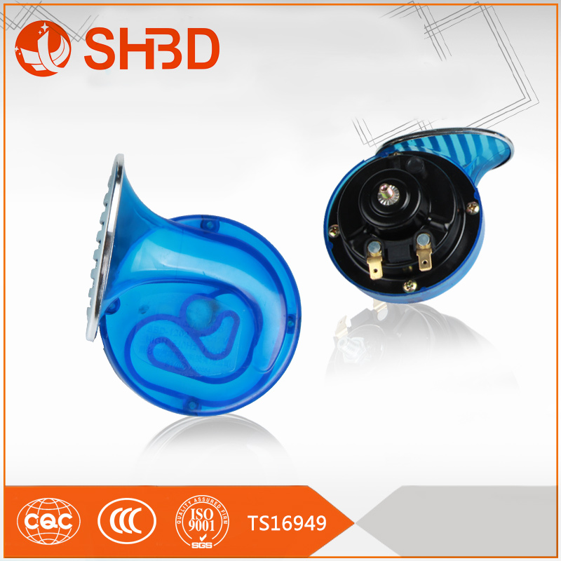 SHBD metal color speaker horn for car with chinese imports wholesale motorbike