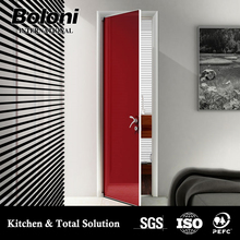 High Quality Interior Wooden Pvc/mdf Cheap Security Door