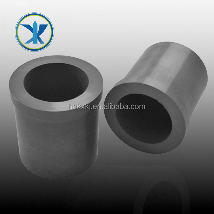 high temperature resistance silicon nitride crucible straight cylindrical crucible with both side opening