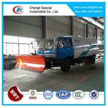 4-8cbm DongFeng Sweepers truck for sale, Street sweeping truck with snow shovel for sale