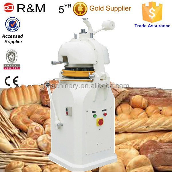 Bakery equipment automatic pizza dough divider and rounder