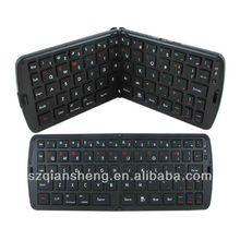 New Mini Wireless Silicone Foldable Bluetooth Keyboard For iPad 2
