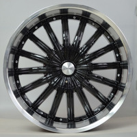 china supplier aluminum alloy car wheel 18 inch
