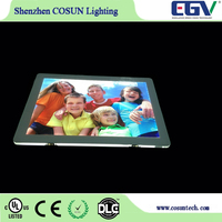 A3 Double Side Advertising Magnetic Crystal LED Light Box, LED Window Displays