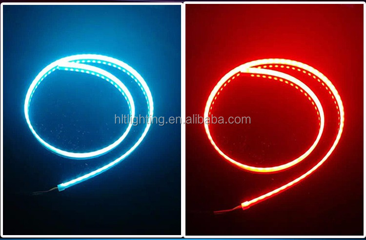 1.2m 47.2inch Ice Blue and Red Multi-function LED Tail Light for Universal