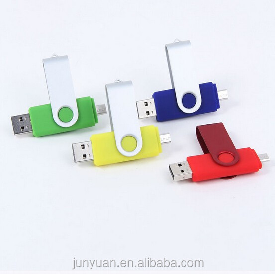 Promotional OTG USB flash drive, mobile USB flash drive/2015 USB
