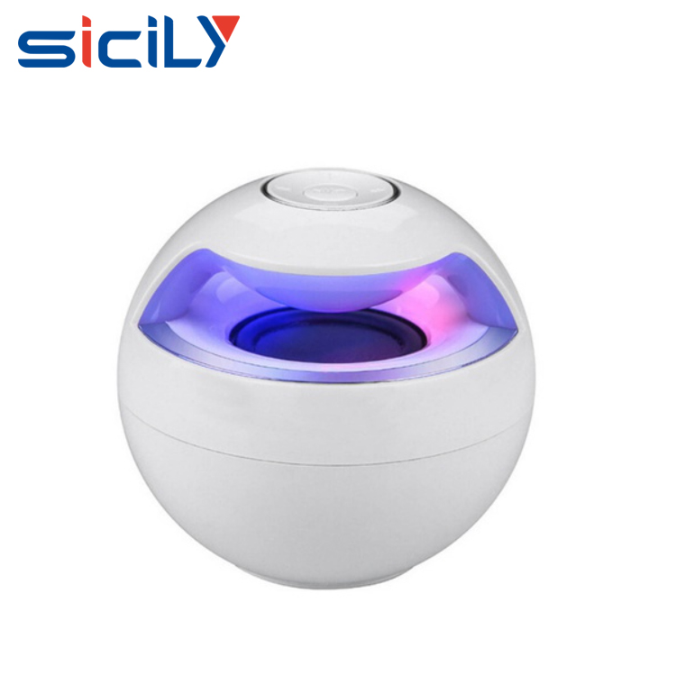 Bluetooth speaker with led light,Portable Bluetooth wireless speaker Mini Subwoofer fashion Design for Smartphone