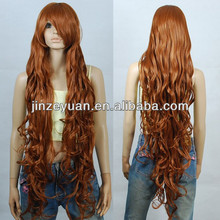 2014 custom wig,super long hair wig 100% synthetic hair