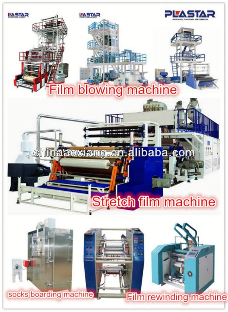 Rotary Die Head Film Blow Machine multi layer blowfilm pp inject blowing mould machine