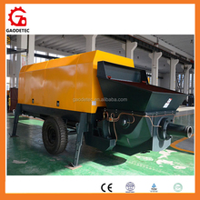 Mini Size Aggregate Diesel Engine Concrete Grout Pumping for sale