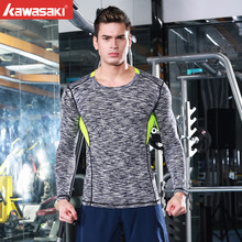 mens fashion casual Men's compression long-sleeved fitness wear workout cool sportswear