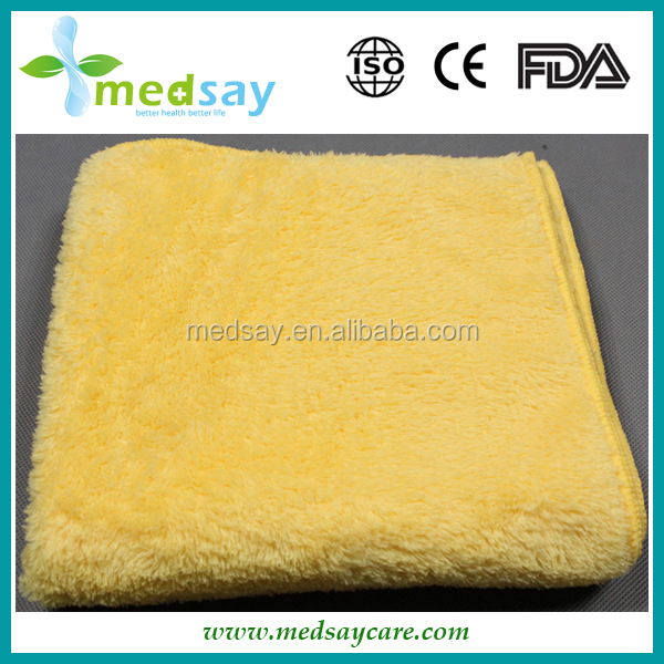 Microfiber cleaning cloth waffle type