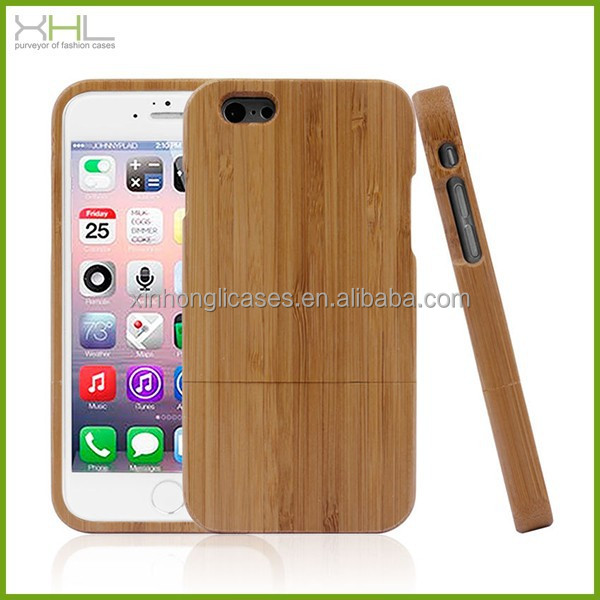 Wood hard case for iphone 6 plus