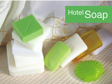 Wholesale cheap 4-5 stars personalized hotel soap with customized flavor hotel hand soap