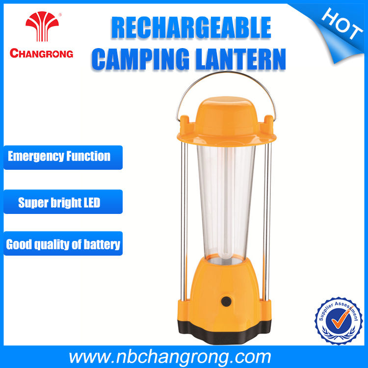 Emergency outdoor portable Fluorescent Bulb Camping Lantern Light