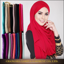 Islamic malaysia women wear shawl muslim hijab hot selling online modal dubai hijab shawl for ladies