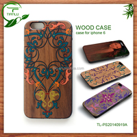 Alibaba Gold Supplier wholesale high quality wood phone case for iphone 6 case