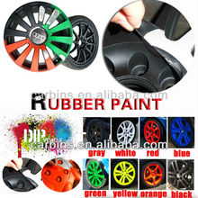 Colorful car rubber paint, spray film Peelable instantly